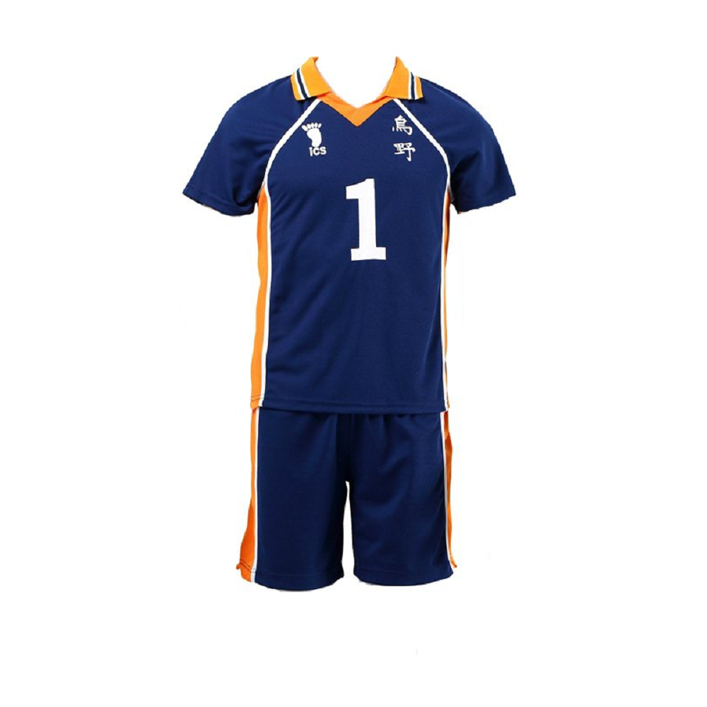 Haikyuu!! Karasuno High Volleyball Jersey Uniforms