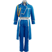 Fullmetal Alchemist Amestris State Military Uniform - Roy Mustang and Riza Hawkeye - Aesthetic Cosplay, LLC