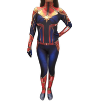 Captain Marvel Suit - Movie - Aesthetic Cosplay, LLC