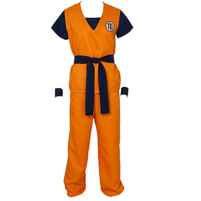 Dragon Ball Z Goku Cosplay Costume - Aesthetic Cosplay, LLC