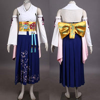 Final Fantasy X Summoner Yuna Cosplay Costume - Aesthetic Cosplay, LLC