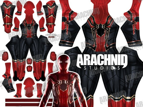 Iron Spider Homecoming Spider-Man - Aesthetic Cosplay, Inc.