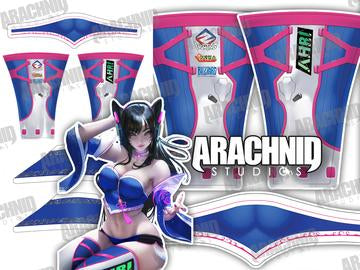 Ahri DVa Leotard - Aesthetic Cosplay, Inc.