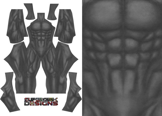 Batman Dark Knight Returns (Undersuit) - Aesthetic Cosplay, LLC