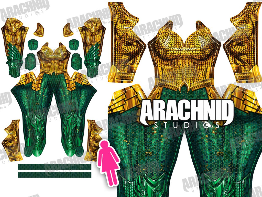 AQUAMAN FEMALE - Aesthetic Cosplay, LLC