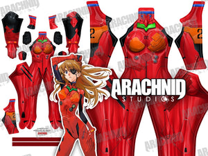 Asuka 3.0 Plugsuit - Aesthetic Cosplay, LLC