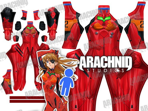 Asuka 3.0 Plugsuit - Male - Aesthetic Cosplay, Inc.