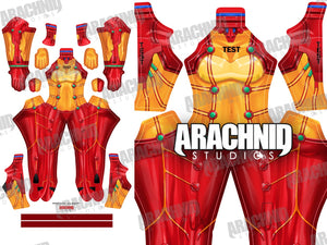 Asuka Test Suit - Aesthetic Cosplay, LLC