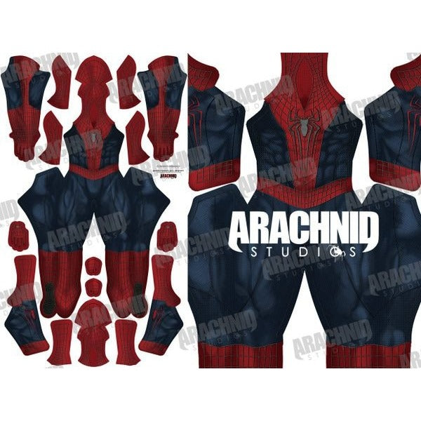 Amazing Spider-Man 2 with Muscle Shading - Aesthetic Cosplay, Inc.