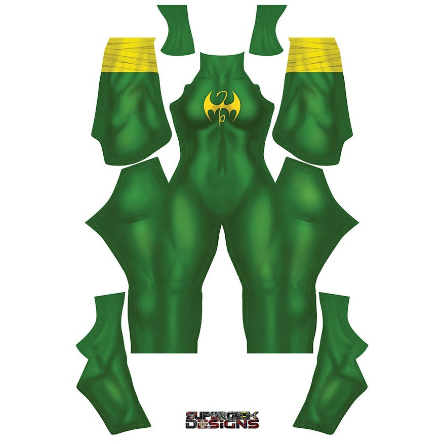 Female Iron Fist - Aesthetic Cosplay, LLC