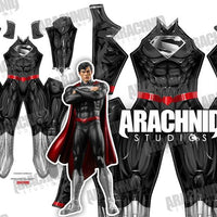 New 52 Superman - Black - Aesthetic Cosplay, LLC