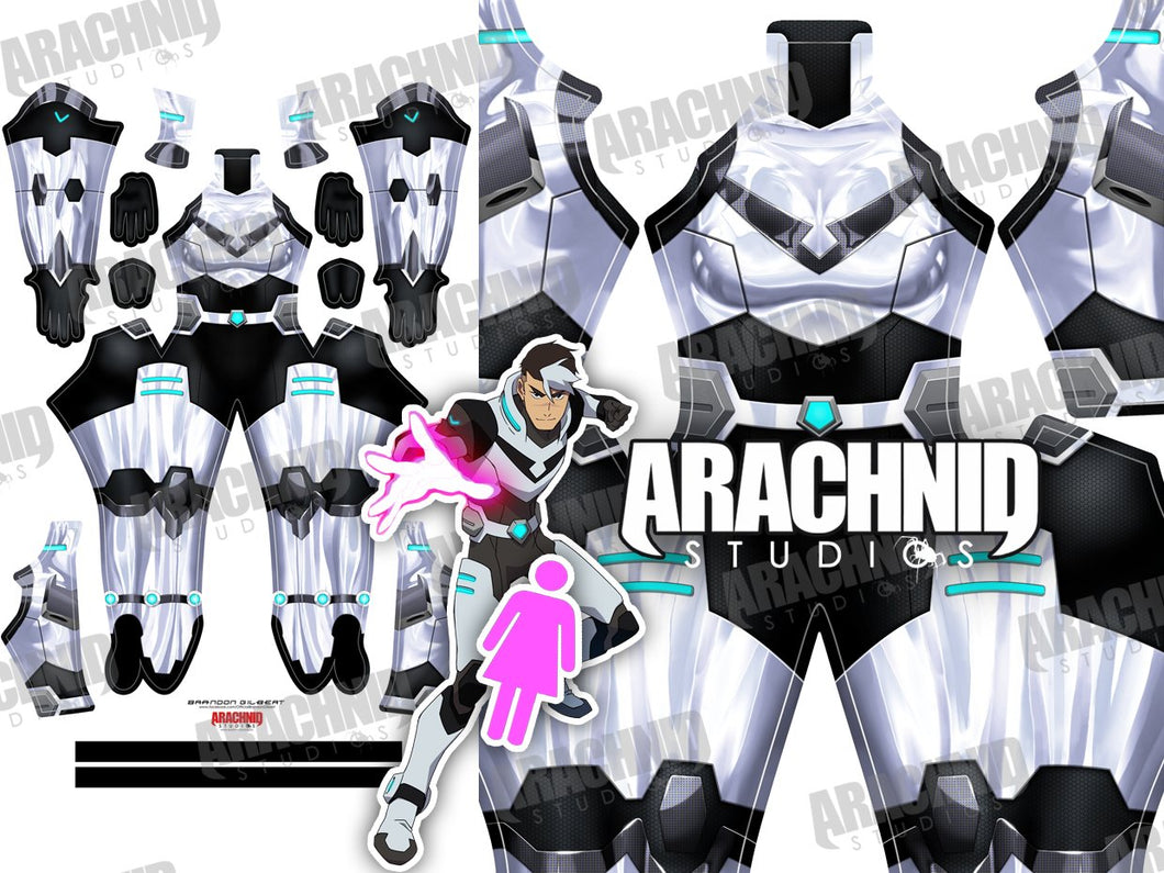Black Paladin - Female - Aesthetic Cosplay, Inc.