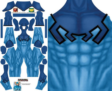 Blue Beetle Kord (No Boots) - Aesthetic Cosplay, LLC