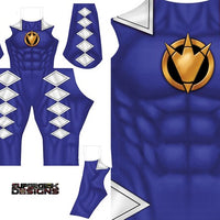 Blue Ranger Dino Thunder - Aesthetic Cosplay, LLC