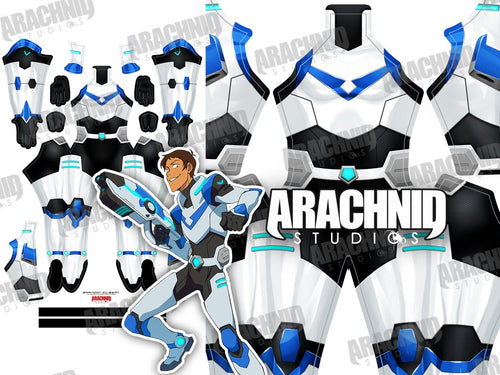 Lance - Blue Paladin - Aesthetic Cosplay, Inc.