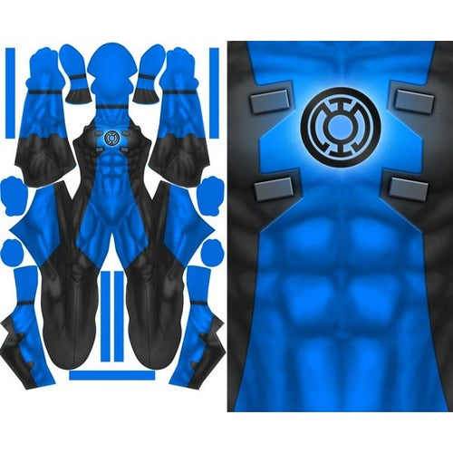 Blue Lantern Deadpool - Aesthetic Cosplay, Inc.