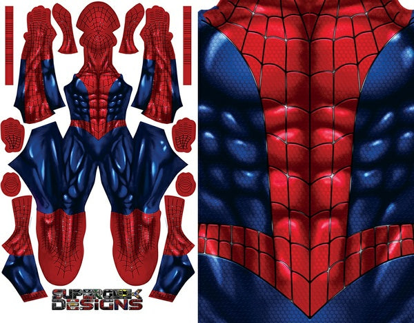 Comic Spider-Man (shiny - no emblem) - Aesthetic Cosplay, LLC