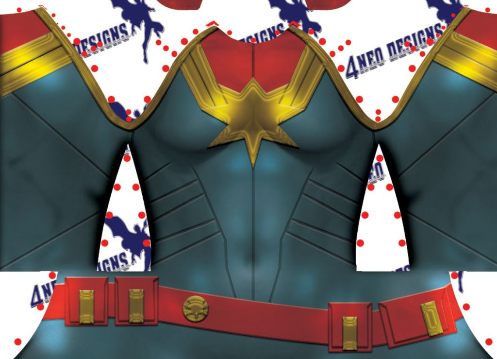 Captain Marvel V3 - Aesthetic Cosplay, LLC