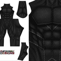 Carbon Fiber Bodysuit - Aesthetic Cosplay, LLC