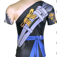 Overwatch Hanzo T-Shirt Muscle Shirt Compression T - Aesthetic Cosplay, LLC