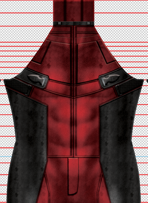 Deadpool Movie Suit - Aesthetic Cosplay, LLC