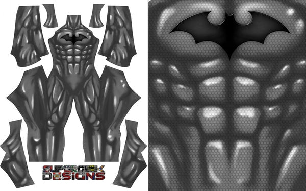 Batman (Shiny) - Aesthetic Cosplay, Inc.