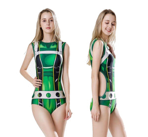 Froppy Tsuyu Asui Swimsuit - Aesthetic Cosplay, LLC