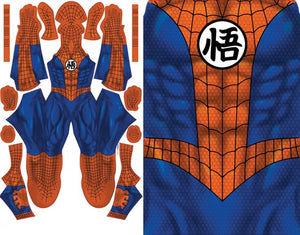 Spider-Man GOKU Mash-Up - Aesthetic Cosplay, LLC
