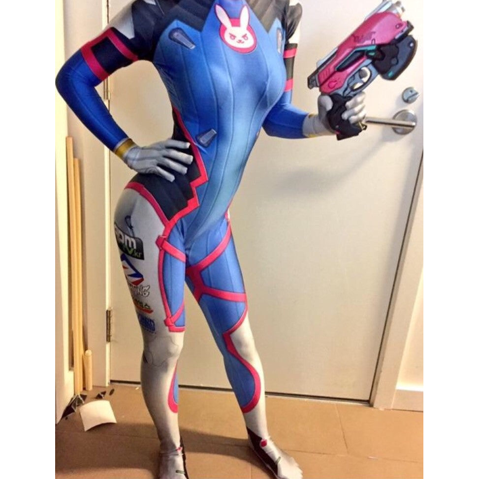 DVa Cosplay Suit - Aesthetic Cosplay, LLC