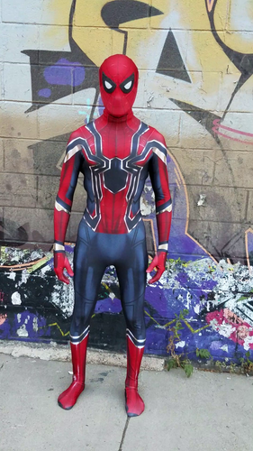 Iron Spider - Spider-Man Homecoming Suit - Aesthetic Cosplay, Inc.