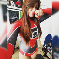 Custom Red Lantern Supergirl - Aesthetic Cosplay, LLC