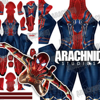 Iron Spider MCU V3 - Blue - Aesthetic Cosplay, LLC