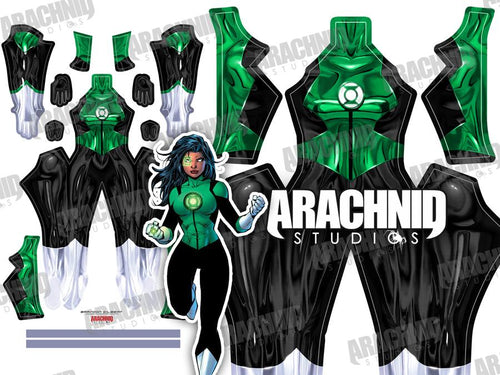 Green Lantern Jessica Cruz - Aesthetic Cosplay, Inc.