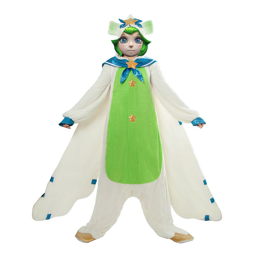 League of Legends Pajama Guardian Lulu Cosplay Kigurumi - Aesthetic Cosplay, LLC