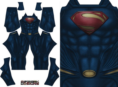 Superman Man of Steel (No Boots) - Aesthetic Cosplay, LLC