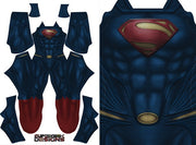 Superman Man of Steel - Aesthetic Cosplay, LLC