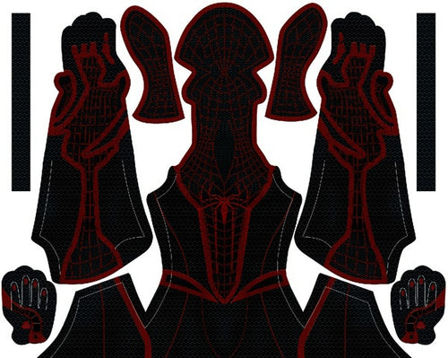 Miles Morales The Amazing Spider-Man 2 Hybrid - Aesthetic Cosplay, Inc.