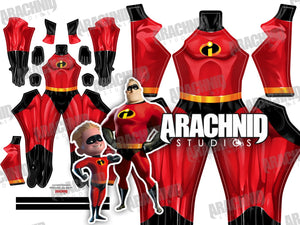 Mr. Incredible - Incredibles - Aesthetic Cosplay, LLC