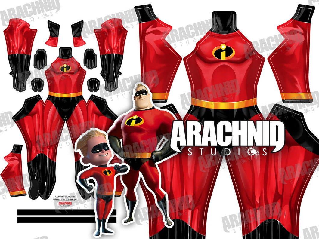 Mr. Incredible - Incredibles - Aesthetic Cosplay, Inc.