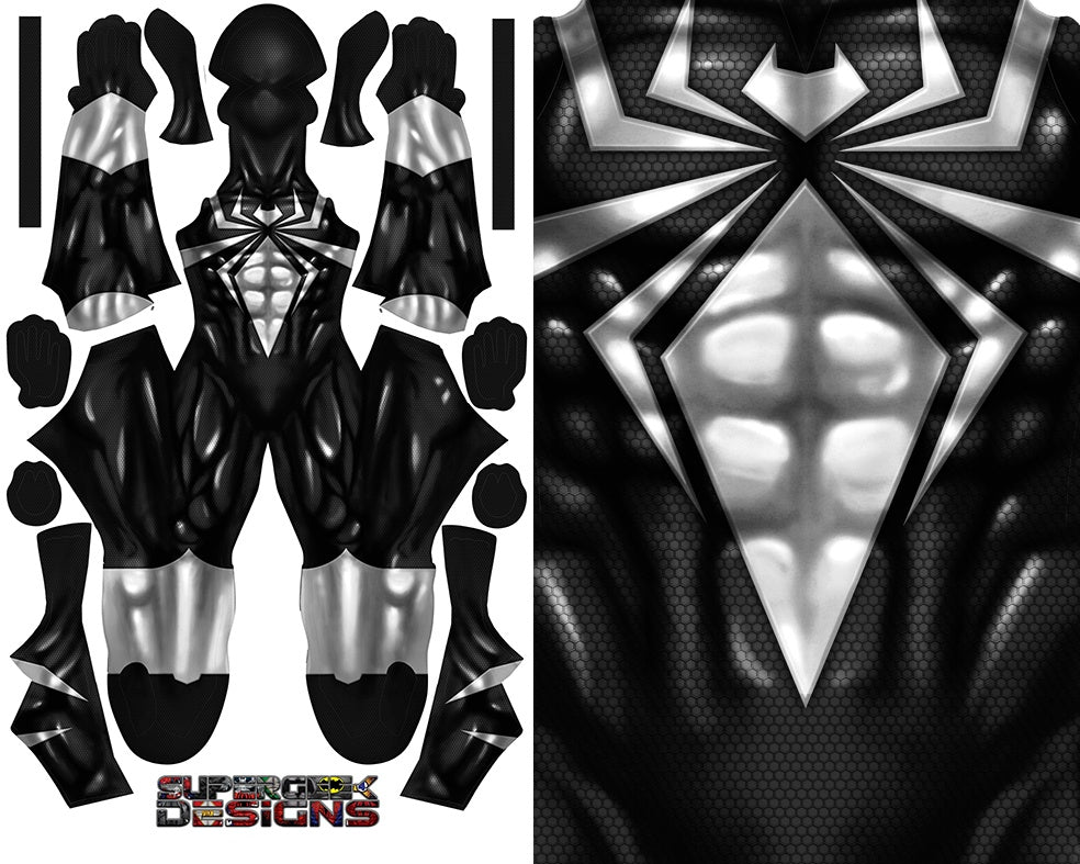 Symbiote Iron Spider V2 - Aesthetic Cosplay, LLC