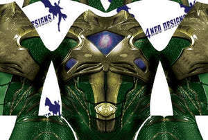 Green Ranger V1 - Aesthetic Cosplay, LLC