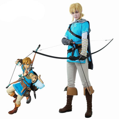 The Legend of Zelda: Breath of the Wild Link Cosplay Costume - Aesthetic Cosplay, LLC