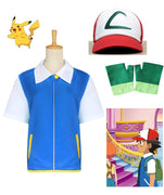Pokemon Ash Ketchum Kids Cosplay Costume - Aesthetic Cosplay, LLC