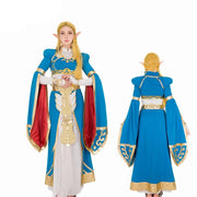 Legend of Zelda Breath of the Wild Princess Zelda Cosplay Costume - Aesthetic Cosplay, LLC
