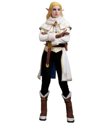 Legend of Zelda Breath of the Wild Princess Zelda Winter Cosplay Costume - Aesthetic Cosplay, LLC