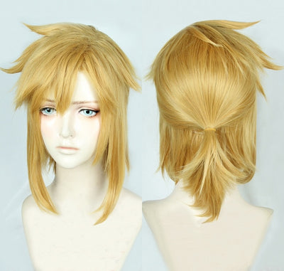 The Legend of Zelda: Breath of the Wild Link Wig + Wig Cap - Aesthetic Cosplay, LLC