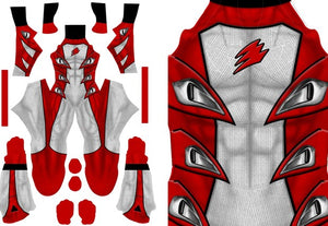 Red Jungle Fury Ranger - Aesthetic Cosplay, LLC