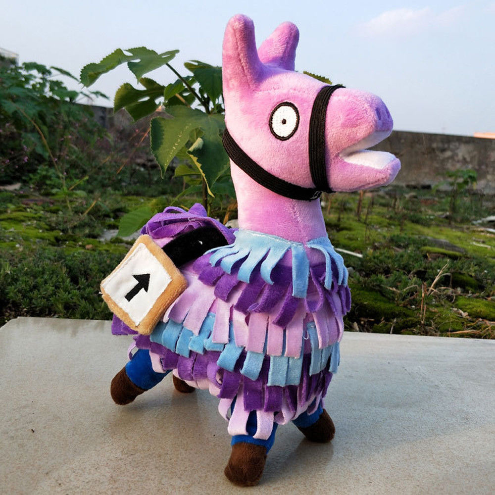 Fortnite Loot Llama Plush Toy Figure Doll Soft Stuffed Animal Toys