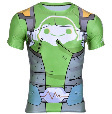 Overwatch Lucio T-Shirt Muscle Shirt - Aesthetic Cosplay, LLC