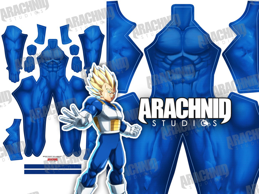 Saiyan Undersuit - Male - Aesthetic Cosplay, Inc.